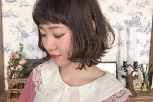 藤美容室 ヘアサロン 沢 美容院 ヘア ヘアスタイル ボブ コテ セット ゆる巻き
