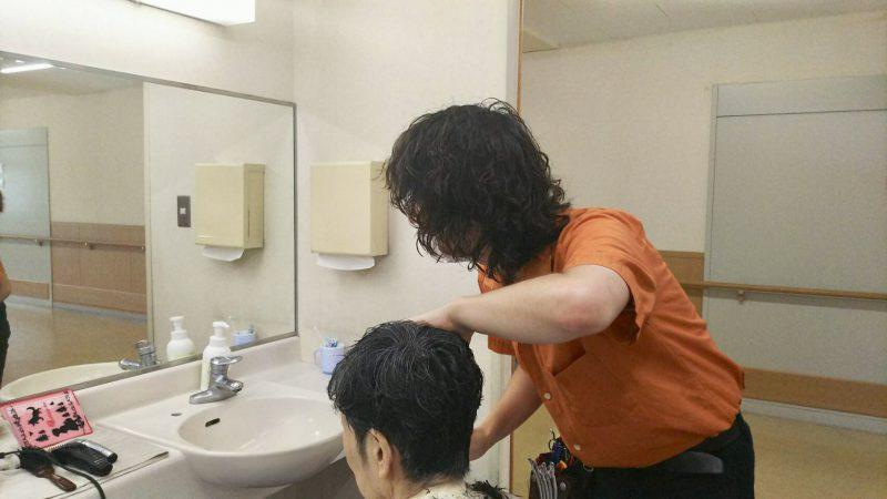 藤沢 美容院 カット ボランティア 介護施設
