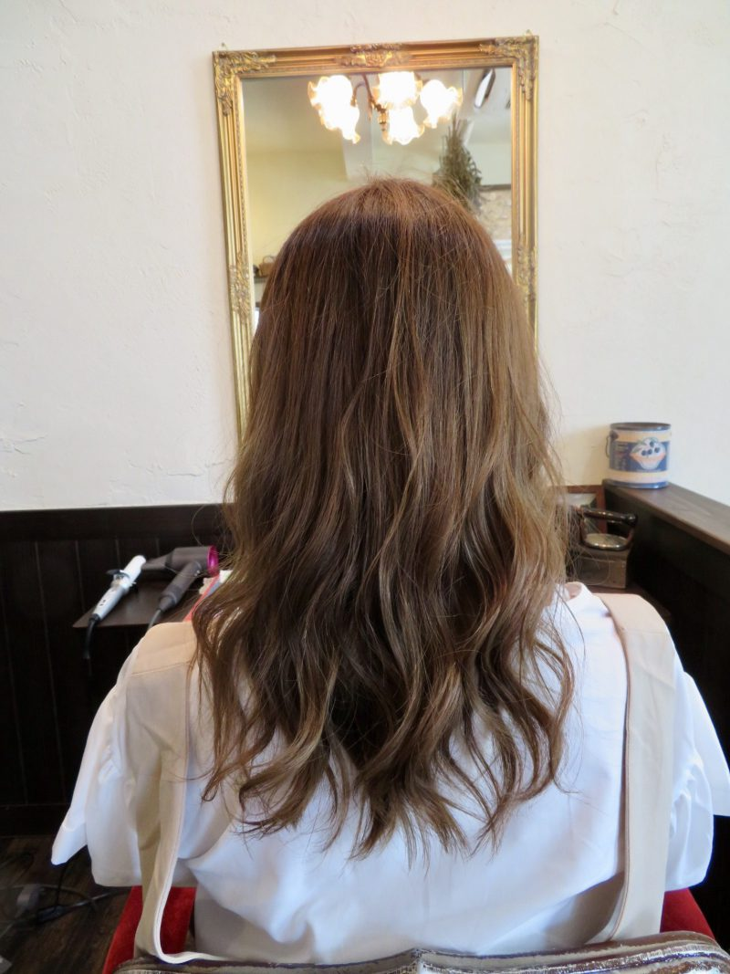 美容室 ヘアサロン 藤沢 美容院 施術事例 ヘアスタイル ビフォーアフター カラー ダブルカラー ブリーチ