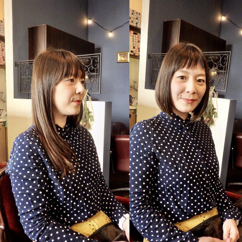 藤沢 美容院 施術事例 ビフォーアフター