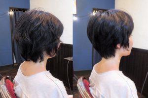 美容室 ヘアサロン 藤沢 美容院 施術事例 ヘアスタイル ビフォーアフター ショートカット ショート カット