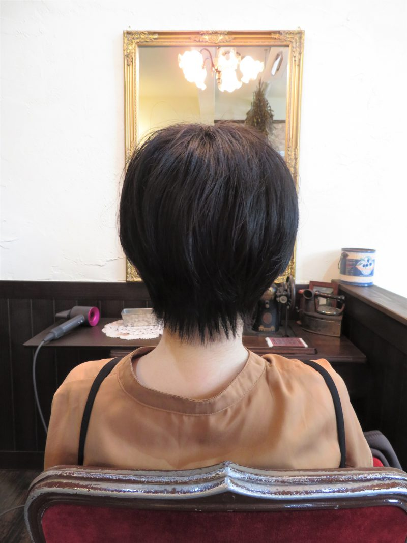 美容室 ヘアサロン 藤沢 美容院 施術事例 ヘアスタイル ビフォーアフター ショートカット ショート