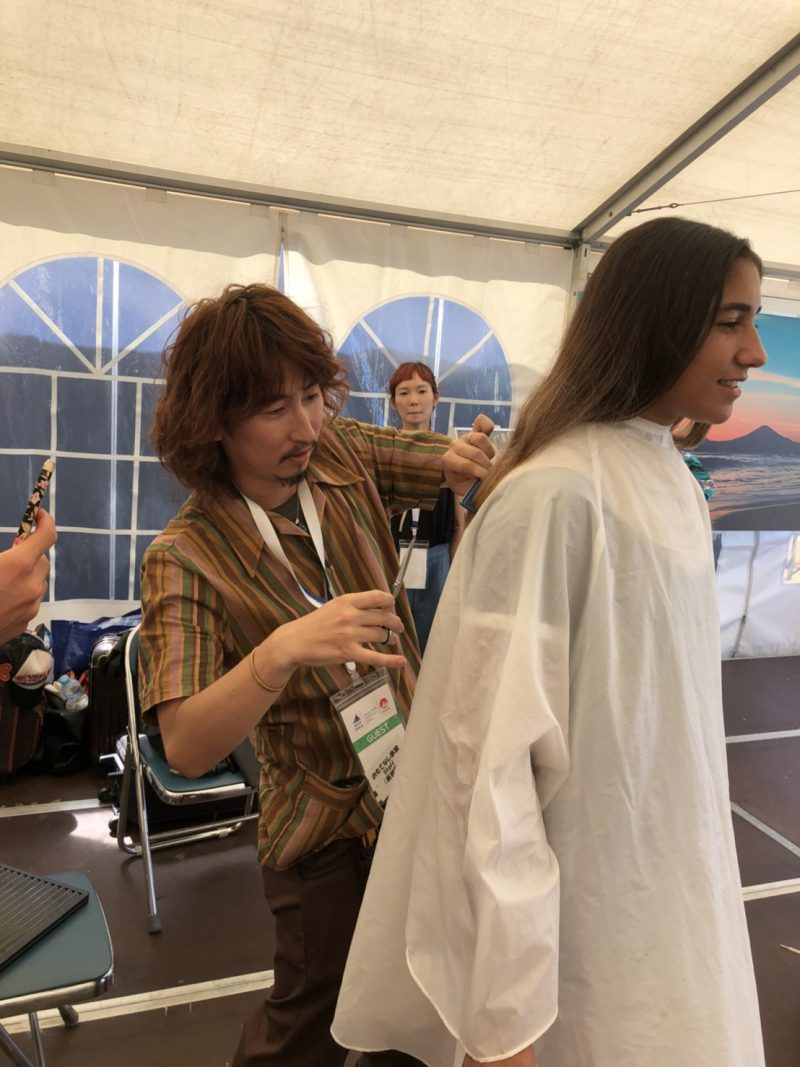 美容室 ヘアサロン 藤沢 美容院 カット 高齢者 ボランティア セーリング ワールドカップ