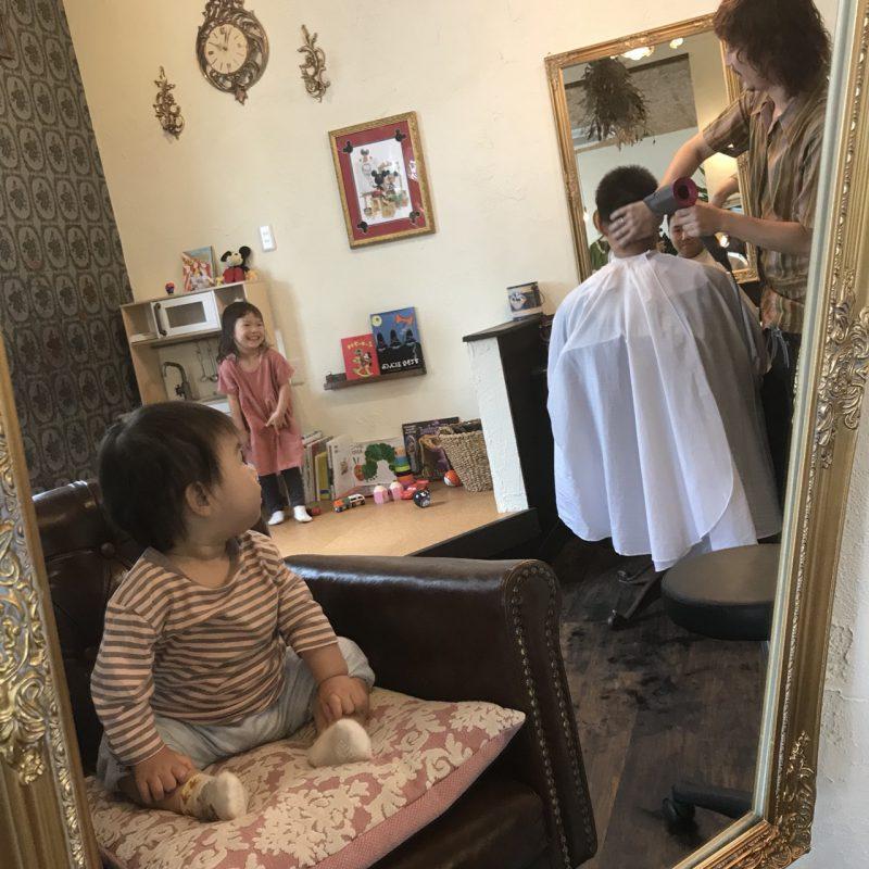 美容室 ヘアサロン キッズ キッズカット キッスルーム 親子カット 藤沢 美容院