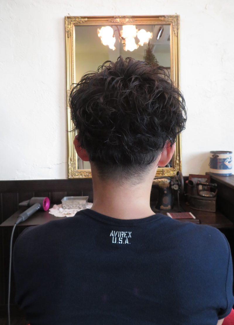 カット 美容室 ヘアサロン 藤沢 美容院 施術事例 ヘアスタイル ビフォーアフター ショートカット ショート メンズ 2ブロック