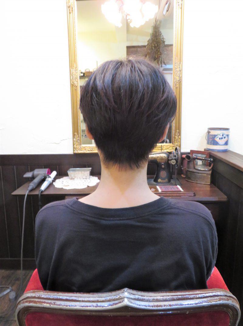カット 美容室 ヘアサロン 藤沢 美容院 施術事例 ヘアスタイル ビフォーアフター ショートカット ショート