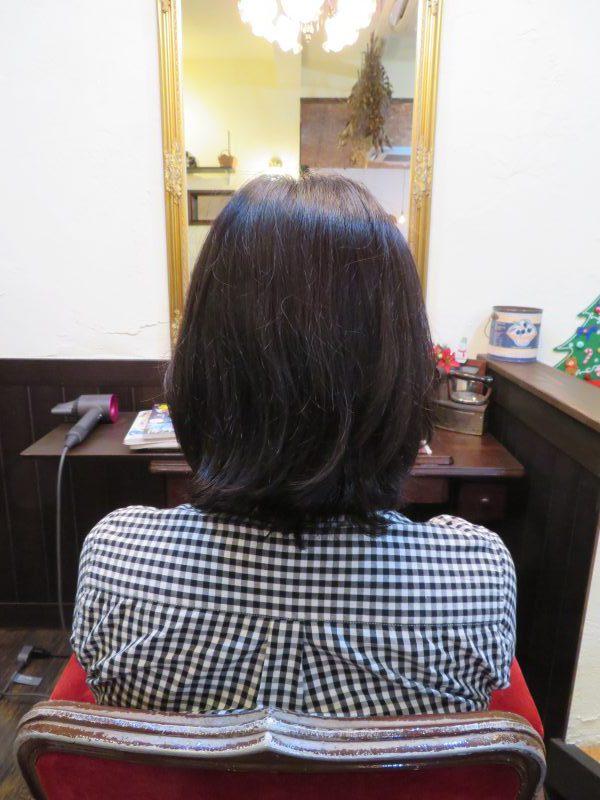カット 美容室 ヘアサロン 藤沢 美容院 施術事例 ヘアスタイル ビフォーアフター ボブ パーマ くせ毛