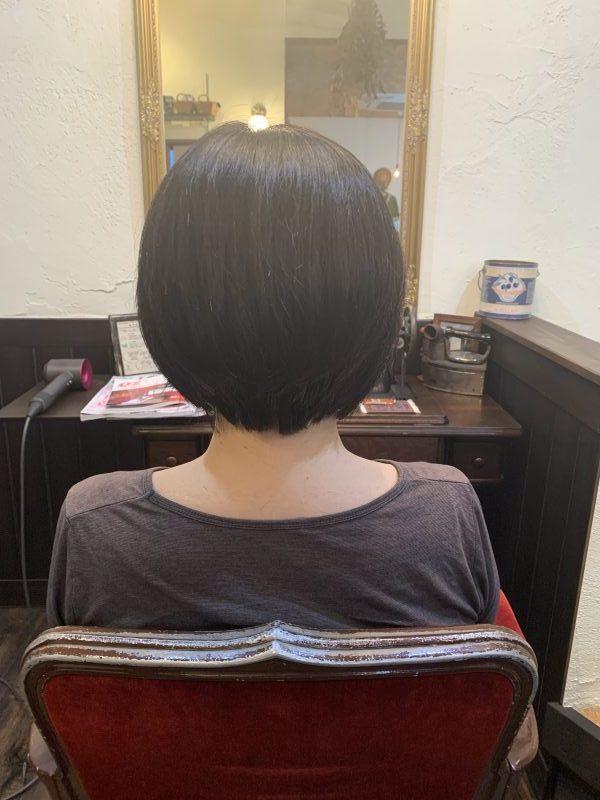 美容院 カット 美容室 ヘアサロン 藤沢 美容院 施術事例 ヘアスタイル ビフォーアフター ボブ
