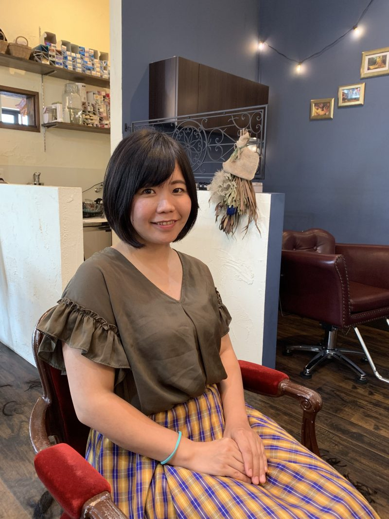 美容院 カット 美容室 ヘアサロン 藤沢 美容院 施術事例 ヘアスタイル ビフォーアフター  ボブヘア 施術事例