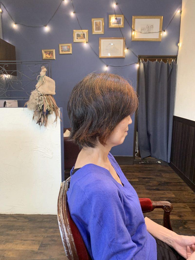 美容院 カット 美容室 ヘアサロン 藤沢 美容院 施術事例 ヘアスタイル ビフォーアフター  ショートヘア 施術事例 ショートカット くせ毛